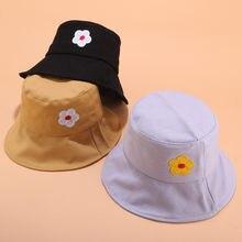 3d20ff83 (Ship from US) Men Women Printing Bucket Hat Hip Hop Fisherman Panama Hats  Embroidery Cotton Outdoor Summer Casual Swag Bob Visor Beach Cap#4