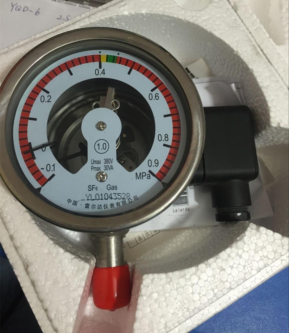 Genuine YMK-100SF6 gas density controller power switchgear table -0.1 ~ 0.9MPA