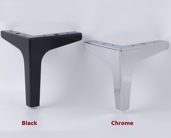 4PCS Lot Premintehdw H 15 2CM Sofa Cupboard Cabinet Furniture Leg Legs Feet Screws
