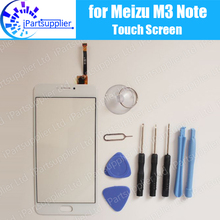 Meizu M3 Note M681H touch screen 100% Original Digitizer glass panel Assembly Replacement for Meizu M3 Note M681H phone+ Tools