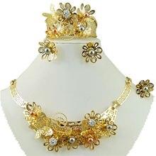 Африканское ожерелье цвет под золото африканские ювелирные изделия