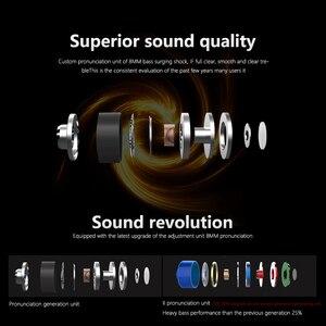 Image 4 - Наушники вкладыши QKZ, металлические Hi Fi наушники с тяжелыми басами, качественный звук, музыка, профессиональный мобильный телефон, гарнитура, наушники DM6