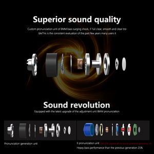 Image 4 - QKZ HiFi Metall Schwere Bass In Ohr Kopfhörer Sound Qualität Musik Professionelle Handy Kopfhörer Headset fone de ouvido DM6