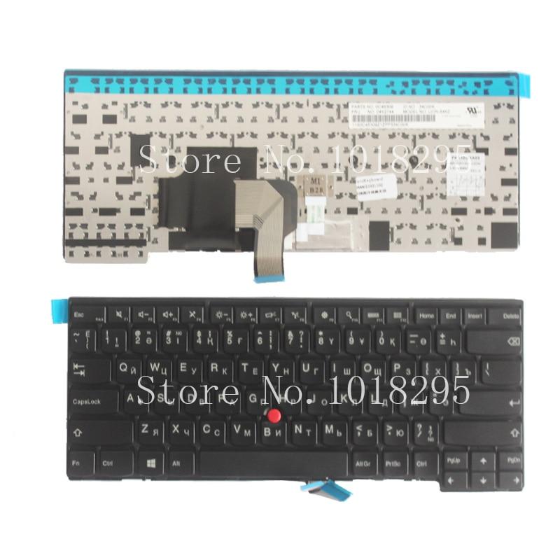 New KZ/RU Laptop Keyboard for Lenovo Ideapad T440 T440s T440p T431s Russian/Kazakhstan laptop keyboard russian keyboard for ibm lenovo ideapad g575 g575a g570 g570ah g570g g575ac g575al g575gl g575gx ru black laptop keyboard