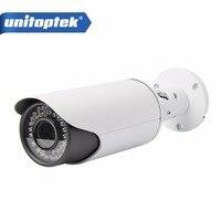 4x Zoom Auto Iris Varifocal Lens IR 40m 2MP Bullet Security Network Bullet IP Camera With