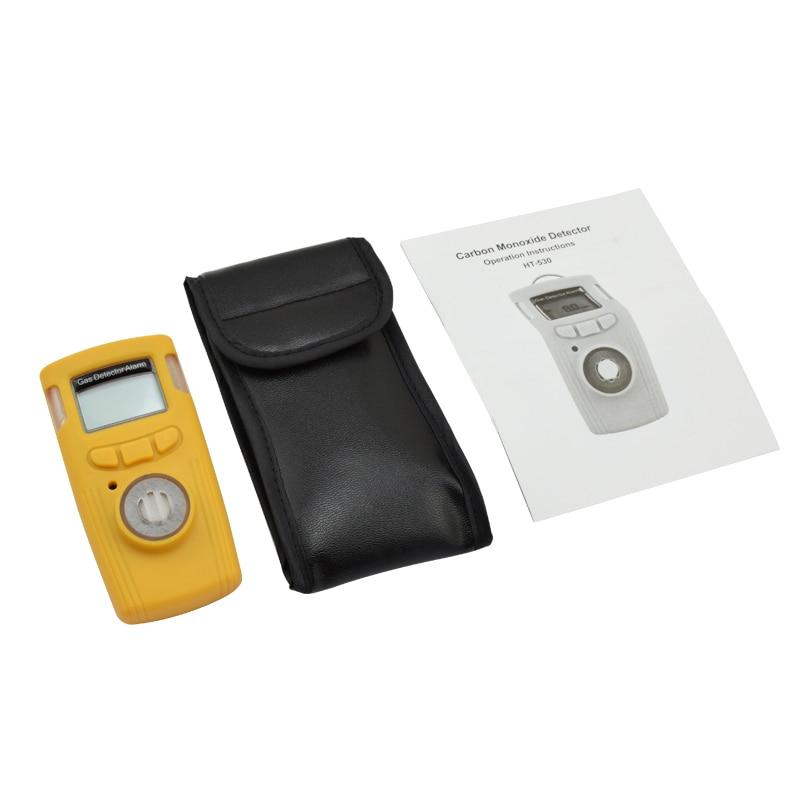 Portable CO Gas Detector Carbon Monoxide Gas Analyzer CO Monitor With flashing+vibration+Sound Alarm System Gas Leak Detector