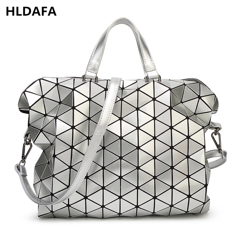 2018 Fashion Woman Bag Plaid Fashion Tote Bags Handbags Famous Brands Shoulder Bag Business Briefcase Diamond Lattice Handbag