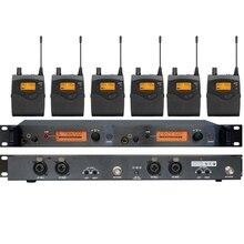 Freies verschiffen sr2050 UHF Professionelle in ohr monitor monitor in ohr drahtlose für Bühne Audio In mikrofon