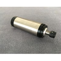 CNC Spindle 2.2KW Machine Tool Spindle 220V ER20 Collet 80MM Motor With 4 Bearings For Engraving Milling Machine
