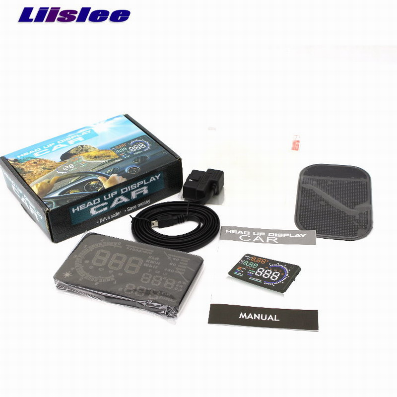 Liislee Car HUD Safe Drive Display For Volkswagen VW Transporter T5 - Reflect car onto windshield to maintain Clear headed