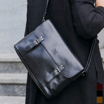 Vintage Doktortasche | Drei-box Luxus Marke Männer Umhängetaschen Leder Koreanischen Stil Business Schulter Tasche Für Männer Vintage Messenger Tasche Männlichen Bolsas