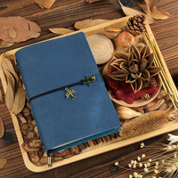 2019 Traveller Leather Notebook Handmade Vintage Notepad Diary Creative Customizable Personalized Gift Stationery Diary
