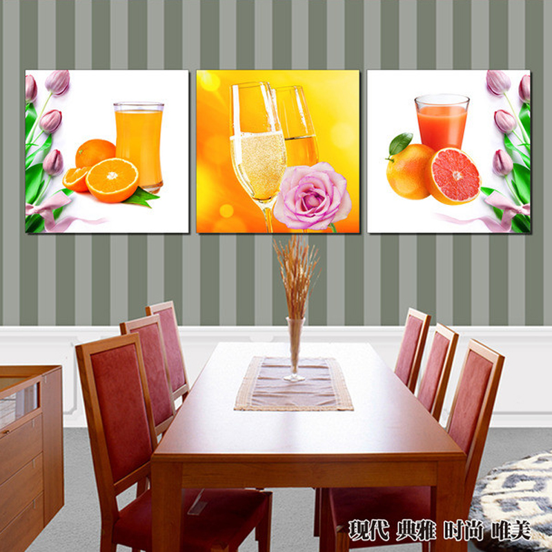 Aliexpress.com : Buy Prints Canvas Painting Dining Room Decorative ...