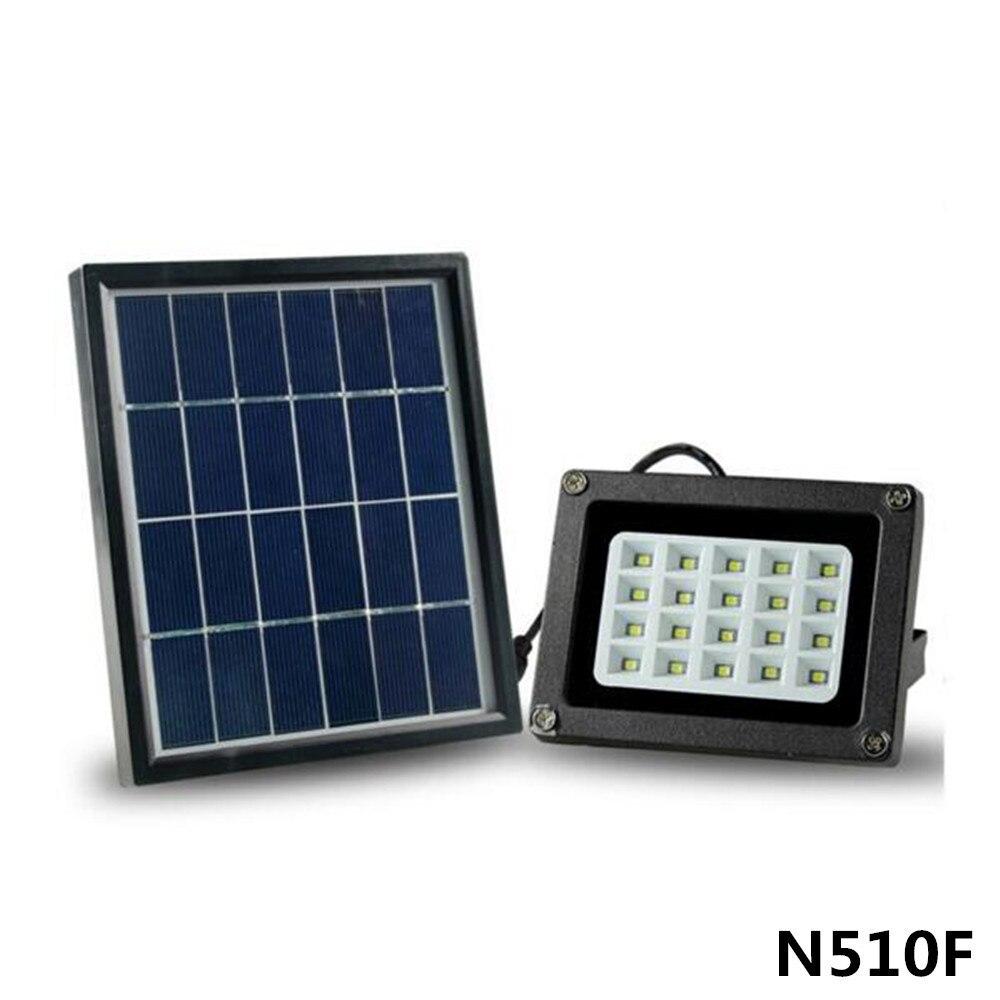 IP65 Waterproof 20LED Solar LED Flood Light Auto ON/OFF