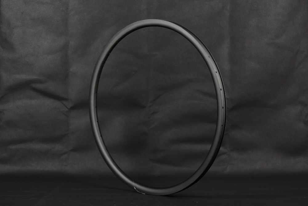 Special offer product XC Asymmetrical MTB carbon rims Hookless 27.5er(650b) 29er Tubeless Compatible