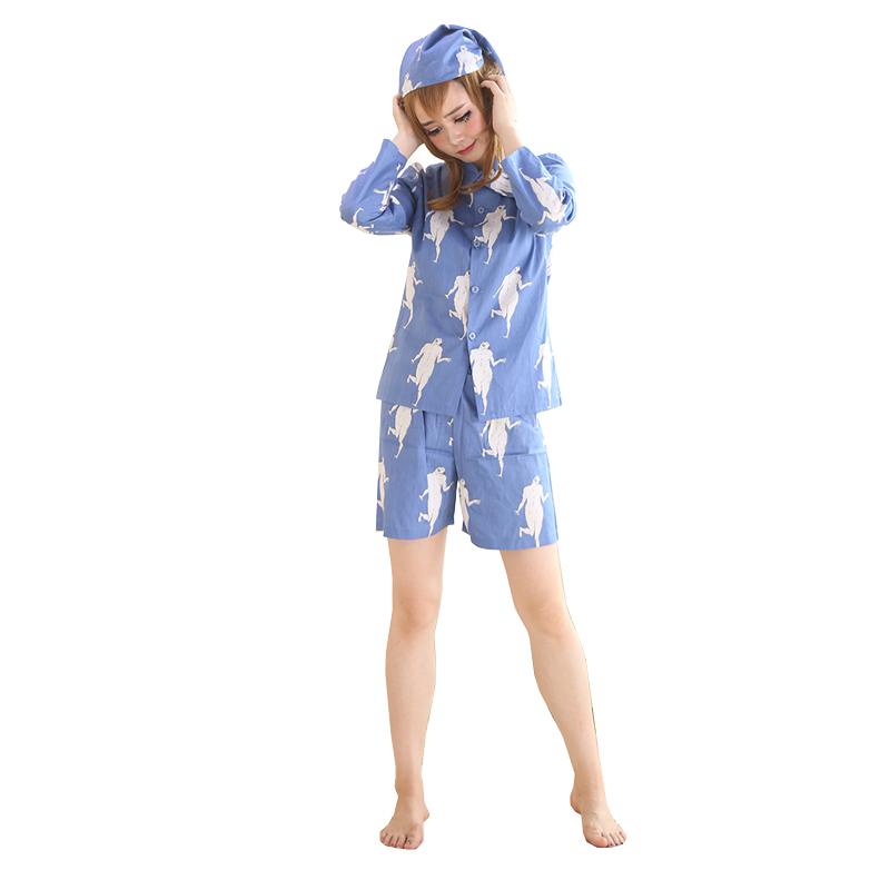 Coshome Levi Pajamas Sleepwears Attack on Titan Pyjamas Shingeki No Kyojin Cosplay Suits Costumes Adult Pijamas With Hats (2)