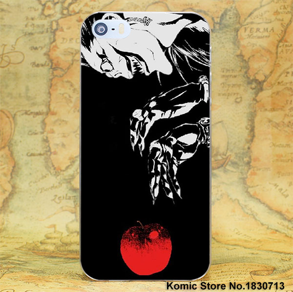 BiNFUL Anime Death Note Hard Clear Cases Cover For Apple