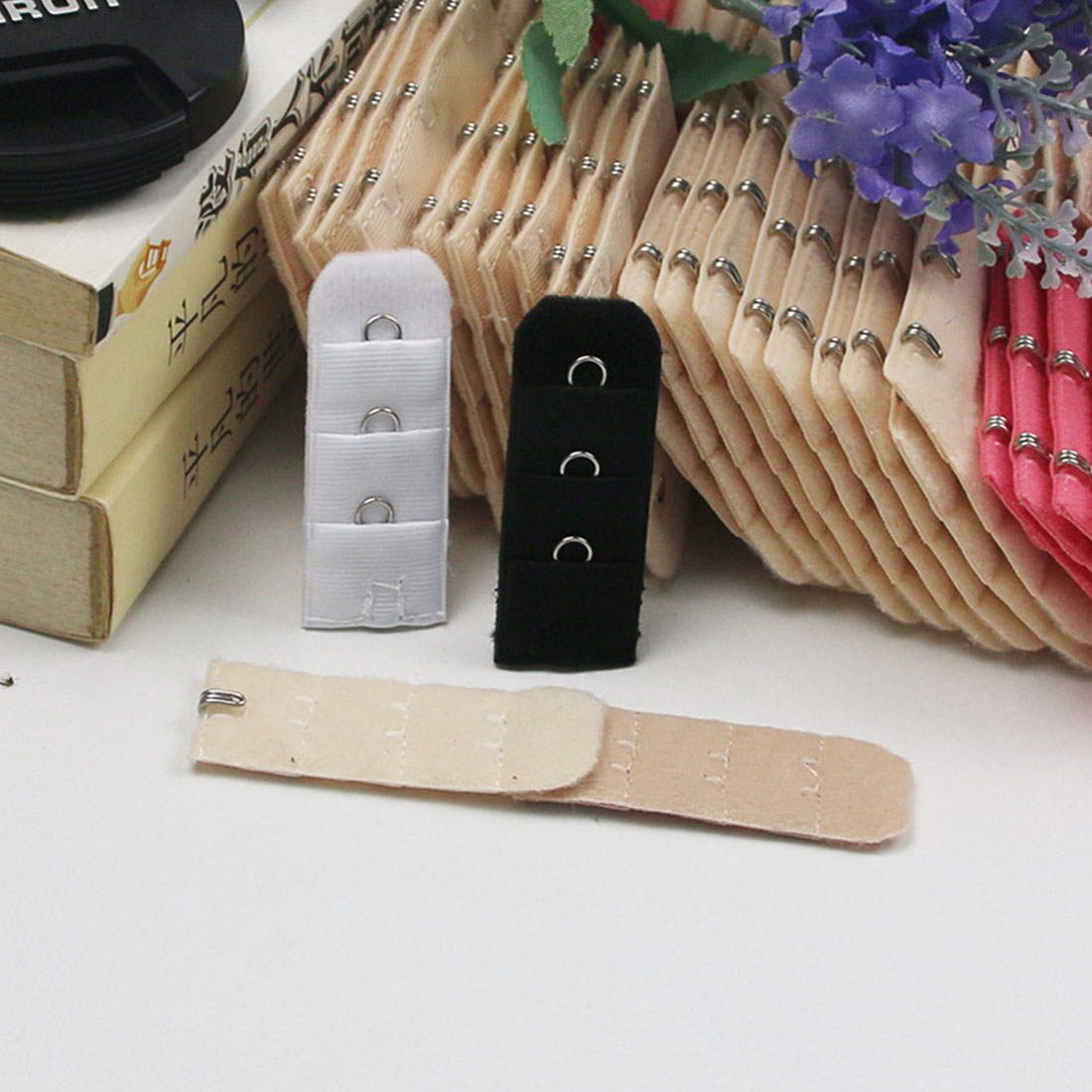 Fashiom 4pcs Bra Extender Strap Extension 1 Hooks Extenders For Women Bra Accessories Lengthened Bra Hook Botton Intimate Sexy