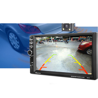 Greenwon 7 Touch Screen 7021G Car Bluetooth MP3 MP4 MP5 Player GPS Navigation Support TF USB
