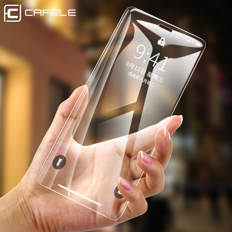 Cafele Tempered Glass Screen Protector For IPhone 11 Pro Max 8 7 6 6s X XS Max XR HD Clear 9H Glass For IPhone 6 7 8 Plus 11 Pro
