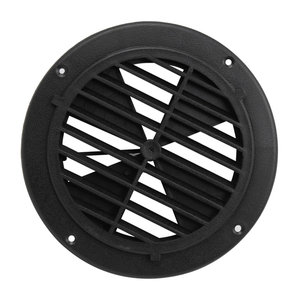 Image 1 - 1 Pcs 6.5 Inch Round Louvered Vent For RV Motorhome Boat Ventilation Parts UV Protection 0.7 Inch Thickness PP Plastic