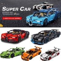 Decool Technic 3388 3368 20086 20001 Racing Car Building Blocks Bricks Compatible 42083 42056 Gifts Toys bugatti Chiron