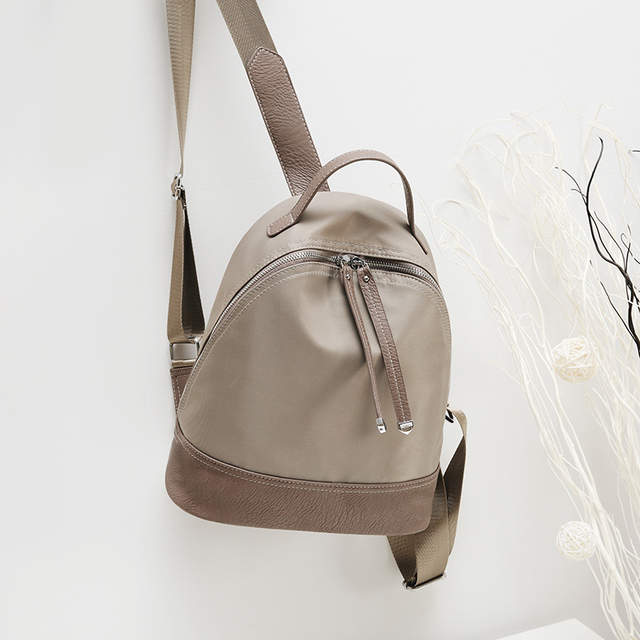 Online Shop Women Genuine Leather Bag Brand Backpacks Famous Designer  Backpack Kanken Classic backpacks for teenage girls Travel bag C282  e562332b1459a