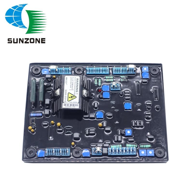 Генератор безщеточный генератор AVR MX321 со свободным амортизатором