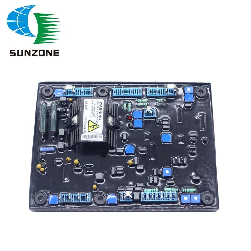 Generator Brushless Alternator AVR MX321 With Free Shock Absorbing Pad Damping Feet Shock Absorber Fittings