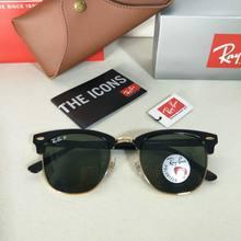 d302ba282c8a9 100% Original Rayban Polarized Sunglasses Eyewear Eyeglasses Sun Glasses  classic prescription RB3016-901