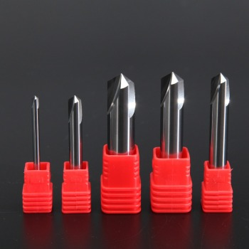 цена на Aluminum HRC60 2mm 4mm 6mm 8mm 10mm 12mm Spot Drill Bit Tungsten Carbide Point Degree 120 for Machine Hole Drill Chamfering Tool
