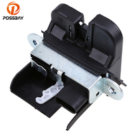 POSSBAY Rear Trunk Boot Lid Lock Actuator Latch 5M0827505E Fit for VW Golf Variant 2010 2014/for VW Tiguan 2008 2016