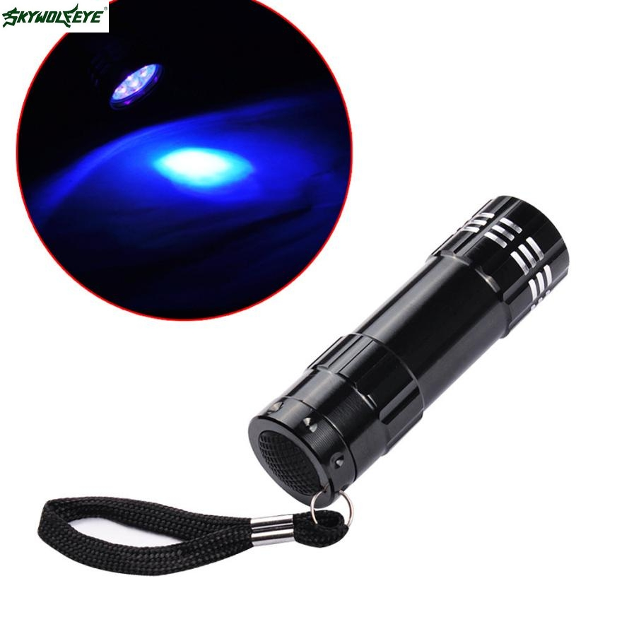 DC 12 Shining Hot Selling Drop Shipping Violet Light Flashlight Led UV Curing Nail Flashlight Manicure Tools