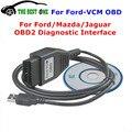 2016 Más Nuevos Focom Ford VCM OBD Cable de Diagnóstico OBD2 Interfaz para Ford/Mazda/Jaguar Mini Tipo De Para Ford VCM IDS Herramienta de Análisis