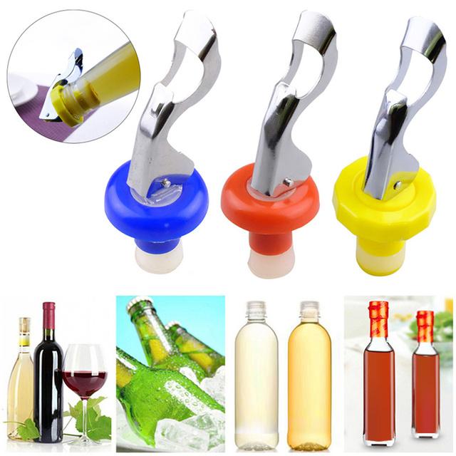 Stainless Steel Vacuum Sealed Wine Stopper