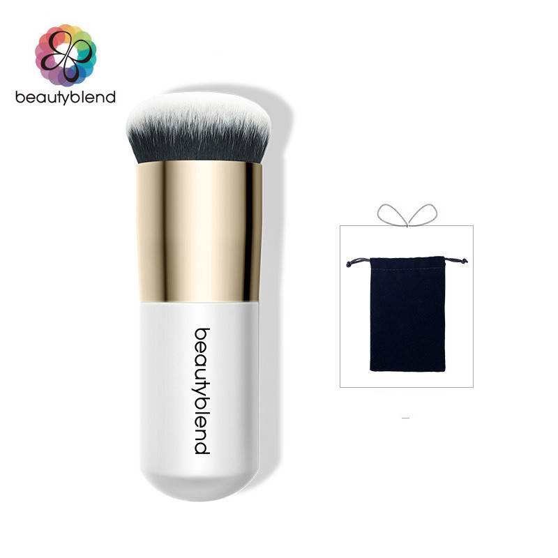 Beautyblend Brand J-8033 Makeup Tools Cosmetic  Telescopic with Cover  Blusher  Foundation Makeup Brush 8033 dcy0d 8033 dcyod new tab cof module