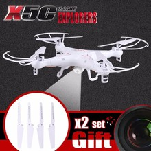 купить SYMA RC Quadcopter X5C X5C-1 Drone With Camera HD 2.4GHz 4CH 6-Axis Gyro RC Helicopter RTF FPV Dron по цене 3445.99 рублей
