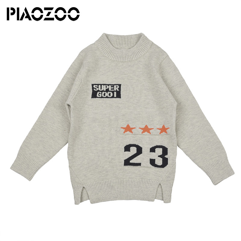 2018 new european and american kids boys long sleeve sweater Autumn Warm Boy Girl Long Sleeve Children Clothes Coat Outwear P50 alfani new black long sleeve crewneck sweater m $49 5 dbfl