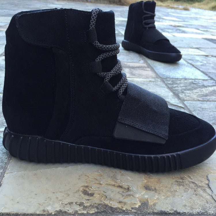 best loved e4d5b 00fc2 Final Version Yeezy 750 Blackout Kanye West Boost With Extra ...