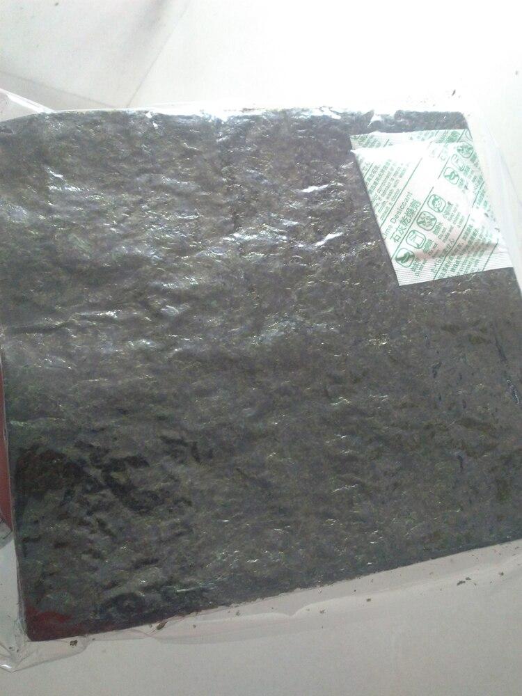 50PCS=1SET Algas Nori Sushi Seaweed 50pc… Sushi nori Seaweed Set nori sushi
