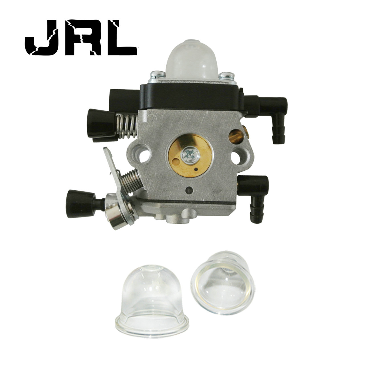 Carburetor & 2 Primer Bulbs Fit Stihl MM55 MM55C Tiller Trimmer Zama C1Q-S202A