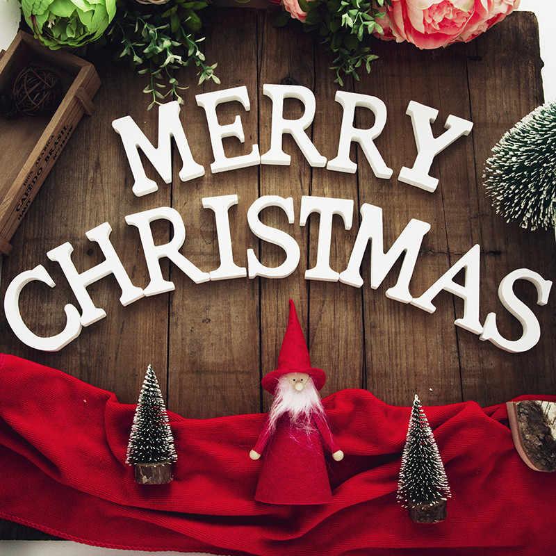עץ Mr Mrs אהבת אלפבית עץ מכתב לחתונה בית תפאורה חג המולד קישוט מסיבת DIY יום הולדת אבזר אספקת 62019