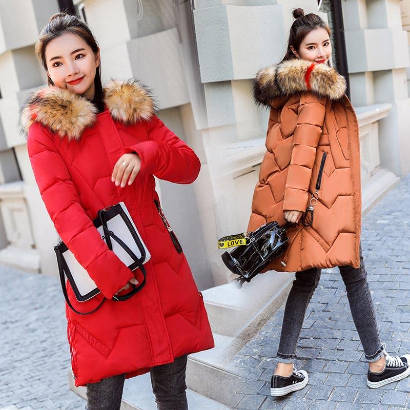 Brieuces 2018 new Winter Jacket Women's New Fashion Brand Warm Thick Outwear Coat Women Jackets Parka Female Cotton Coats Winter