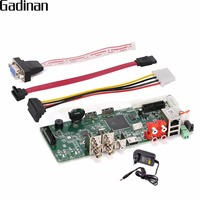 GADINAN Main PCB Security H 264 AHD 4MP 4CH AHD DVR Recorder Video Recorder 4MP AHD