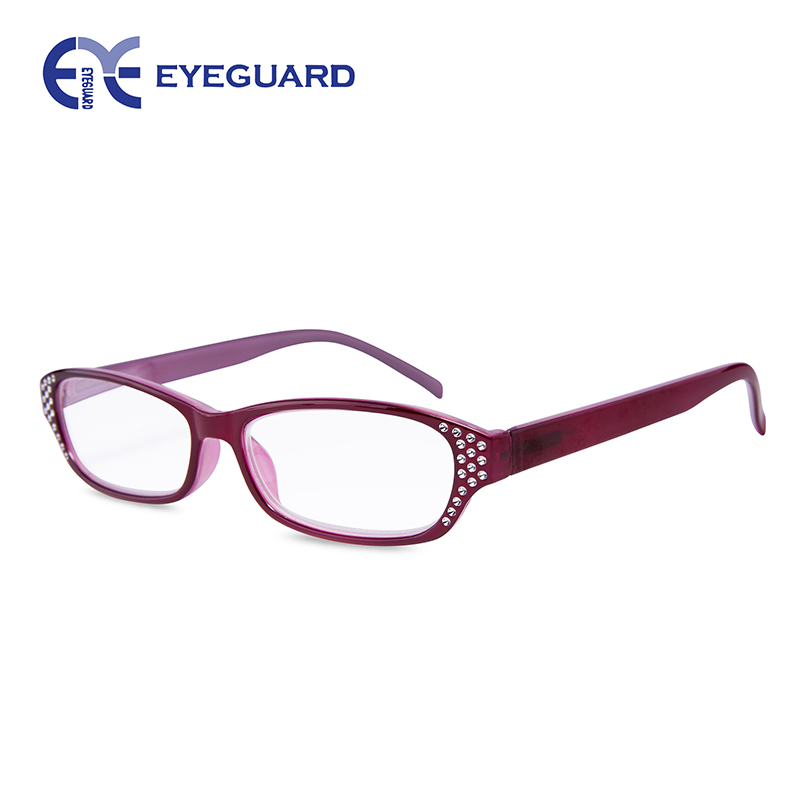 eyeguard readers transparent colorful bright