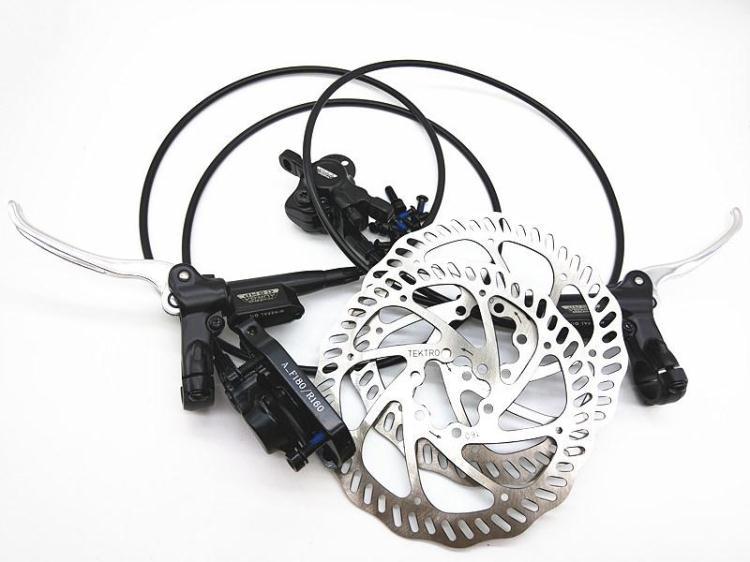 original tkro AU2.2R/AU1.3F double piston mtb bike hydraulic disc brake 2018 anima 27 5 carbon mountain bike with slx aluminium wheels 33 speed hydraulic disc brake 650b mtb bicycle