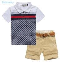 Boys Sets Boys T Shirts Boys Shorts Casual Cotton Shorts Sleeves Set 2017 Summer Children S
