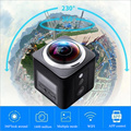 IDV 360 Panoramic Camera X5 4K Video Wifi Mini Action  360 degree  Camera Waterproof VR Camera 2448*2448 Ultra HD freeshipping