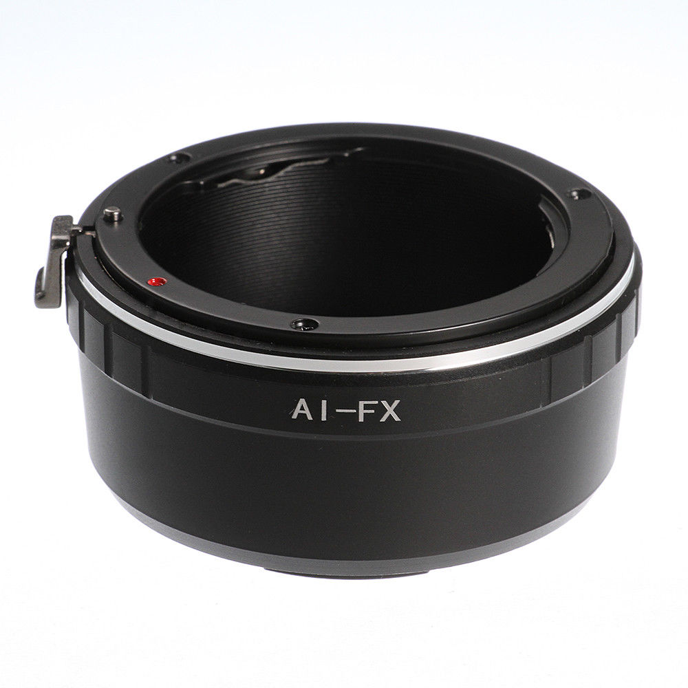 AI-FX Mise Au Point Manuelle Bague D'adaptation pour Nikon F Objectif Fujifilm X Fuji Caméra X-A10 X-E1 X-E2 X-Pro2