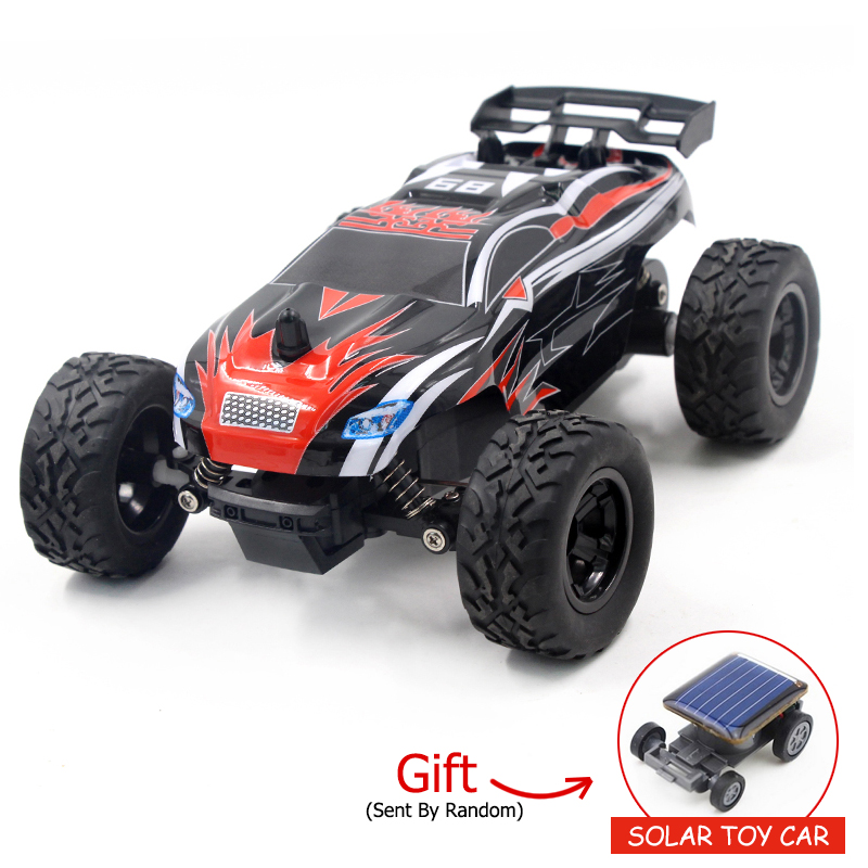 1:24 RC Car 2.4G 4CH High Speed Racing Car Remote Control Climbing Car Monster Truck Off-Road Vehicles For Children Gift 2017 navigator rc racing car 2163 4ch 1 8 60cm large size off road remote control car truck vehile model toy with led light